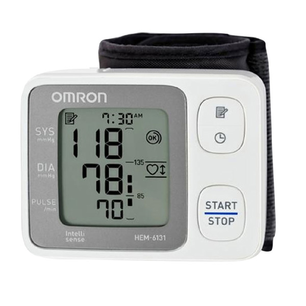 Hướng dẫn cách đo huyết áp với máy đo huyết áp cổ tay HEM-6131