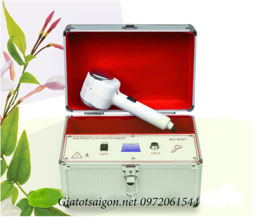 Búa massage nóng lạnh kiểu vali RU-8421