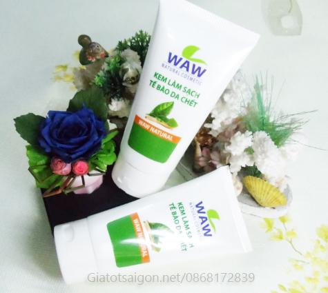 Kem làm sạch tế bào chết WAW Natural