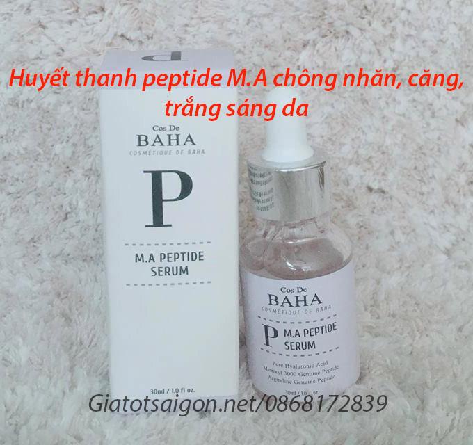 Huyết thanh peptide M.A chống nhăn, căng, trắng sáng da