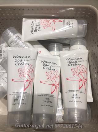 Kem dưỡng da cấp ẩm toàn thân cao cấp Woman Body Cream Nhật Bản