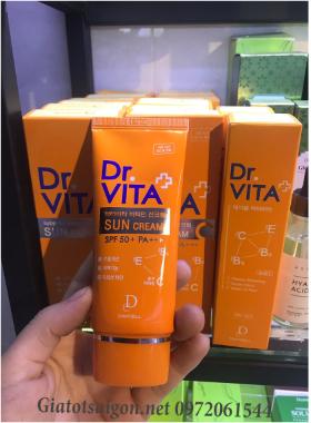 Kem Chống Nắng Daycell Dr.Vita Vitamin Sun Cream SPF 50+ PA+++