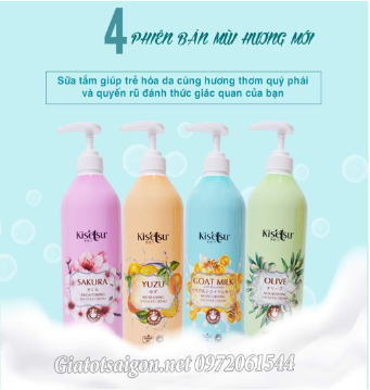 Sữa tắm Kisetsu Shower Cream