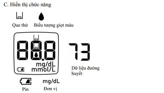 Hướng dẫn sử dụng máy đo đường huyết HGM-112 B3