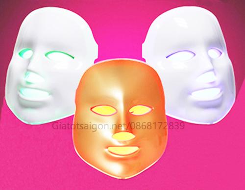 Mặt nạ ánh sáng sinh học 3 màu BM-3VT