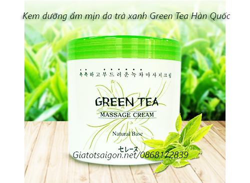 Kem dưỡng ẩm mịn da trà xanh Green Tea Hàn Quốc
