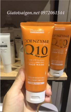 Sửa rửa mặt chống lão háo Coenzyme Q10 Nhật Bản