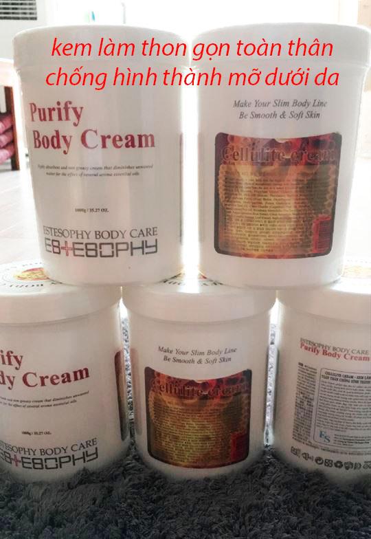 Cellutite cream - kem làm thon gọn toàn thân chống hình thành mỡ dưới da